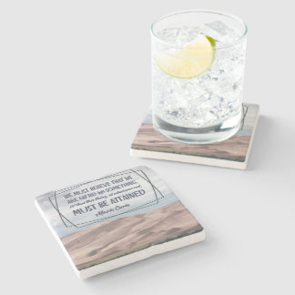 We Are Gifted For Something Stone Coaster