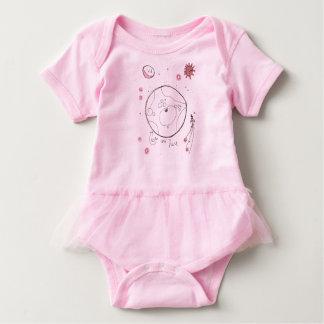 We are Here Baby Bodysuit