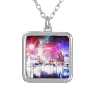 We are Love Orlando Silver Plated Necklace