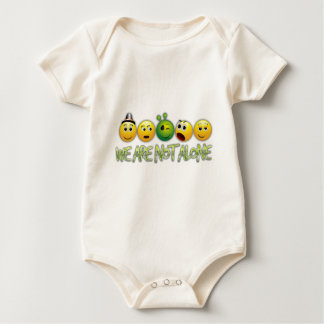 We are not alone from the movie Close Encounters Baby Bodysuit