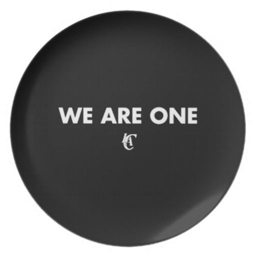 We Are One Clippers Plate