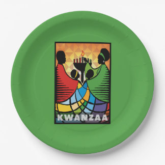 We Are One Kwanzaa Party Paper Plates