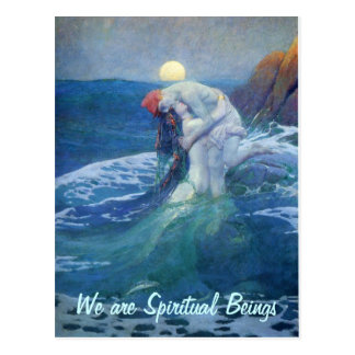 We are Spiritual postcard