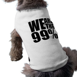 We Are the 99% Pet Clothing
