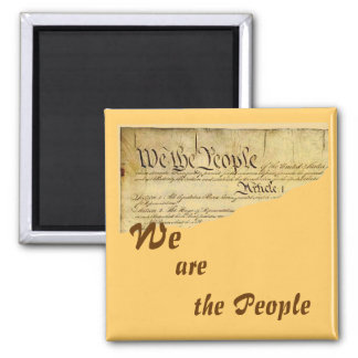 WE are the People magnet