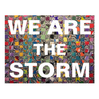 We are the STORM Thank You Postcard