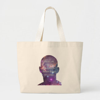 We are the Universe Canvas Bag