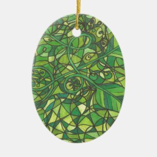 We are the vines 001.jpg ceramic oval decoration