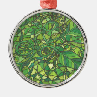 We are the vines 001.jpg Silver-Colored round decoration