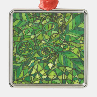 We are the vines 001.jpg Silver-Colored square decoration