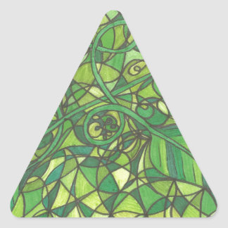 We are the vines 001.jpg triangle sticker