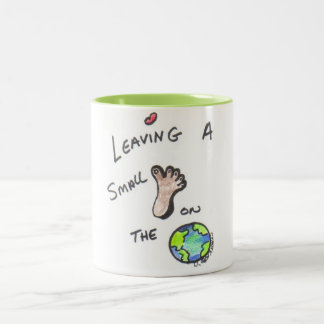 We are trying! Two-Tone coffee mug