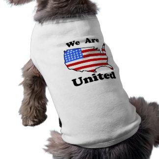 We Are United Dog Shirt