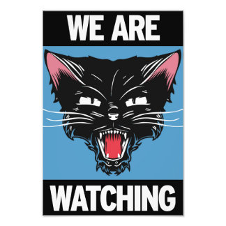 We Are Watching Poster