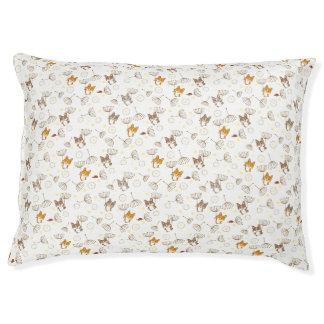 we are welsh corgi dandelion handle pet bed