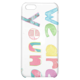 we are young phone cover case for iPhone 5C