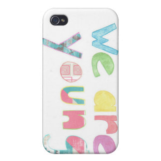 we are young phone cover iPhone 4 covers