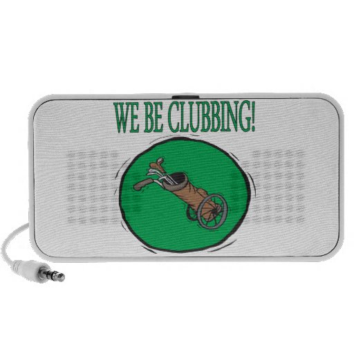 We Be Clubbing Travelling Speaker