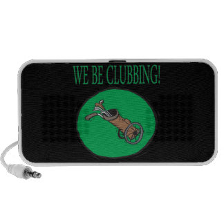 We Be Clubbing Portable Speakers