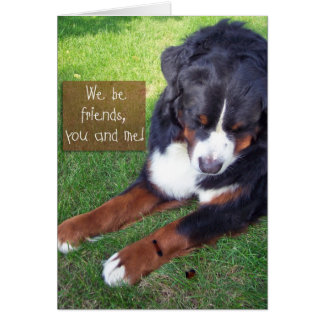 We Be Friends! Card