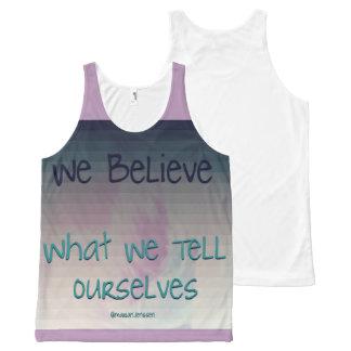 We believe All-Over print tank top
