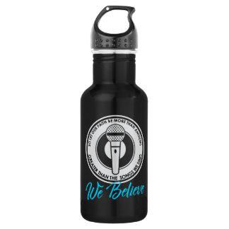 We Believe Dark Water Bottle