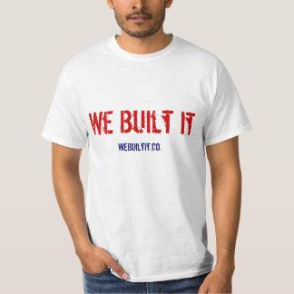 We Built It - Signature Men's Shirt