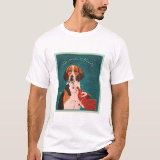 We Can All Be Friends EDUN LIVE ladies organic T-Shirt