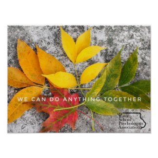 We Can Do Anything Together ISPA Poster Print