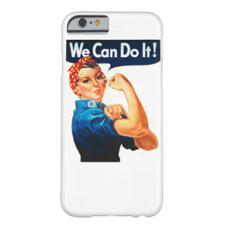 We Can Do It! Barely There iPhone 6 Case