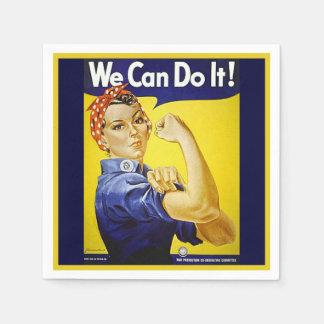 We Can Do It! Disposable Serviette