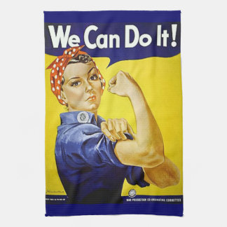 We Can Do It! Kitchen Towel