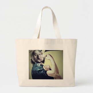 We can do it meme... large tote bag