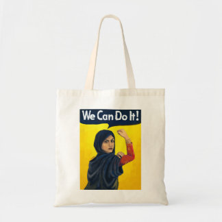 We Can Do It , middle east woman Tote Bag