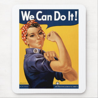 We Can Do it! Mouse Pad