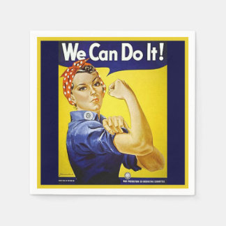 We Can Do It! Paper Napkin