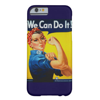 We Can Do It Rosie the Riveter iPhone 6 Case Barely There iPhone 6 Case