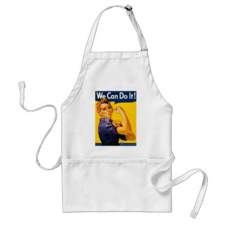 We Can Do It! Rosie the Riveter Vintage WW2 Standard Apron