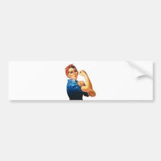 We Can Do It Rosie the Riveter Women Power Bumper Sticker