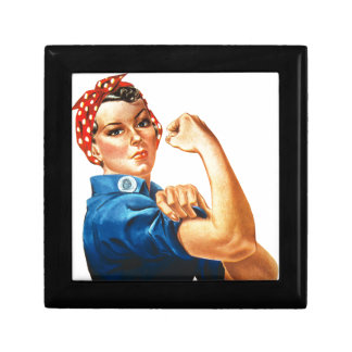 We Can Do It Rosie the Riveter Women Power Gift Box