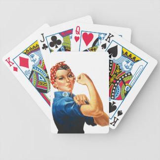 We Can Do It Rosie the Riveter Women Power Poker Deck
