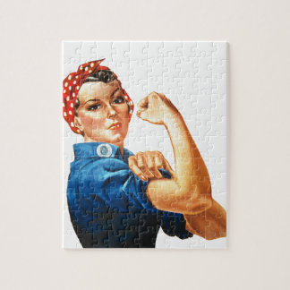 We Can Do It Rosie the Riveter Women Power Puzzle