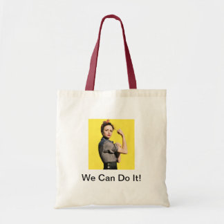 We Can Do It! Budget Tote Bag