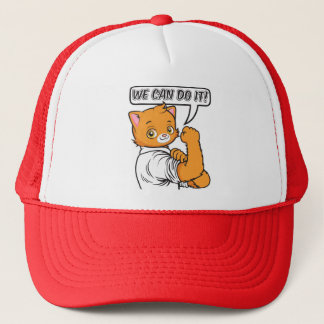 We can do it trucker hat
