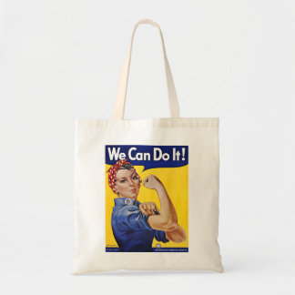 We Can Do It  - Vintage Poster Image Tote Bag