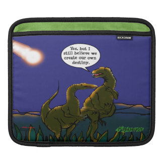 We Create Our Own Destiny Dinosaur Personalized iPad Sleeve