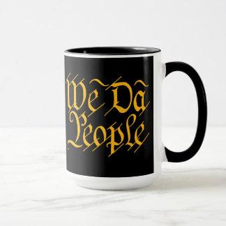 We DA People Mug
