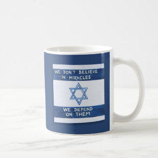 We Depend On Miracles Coffee Mug