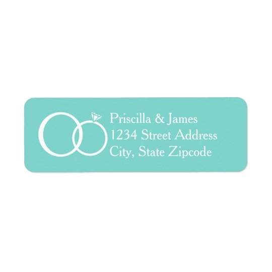 We Do Wedding Return Address Label