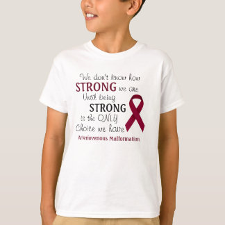 """We Don't Know"" Arteriovenous Malformation Shirt"